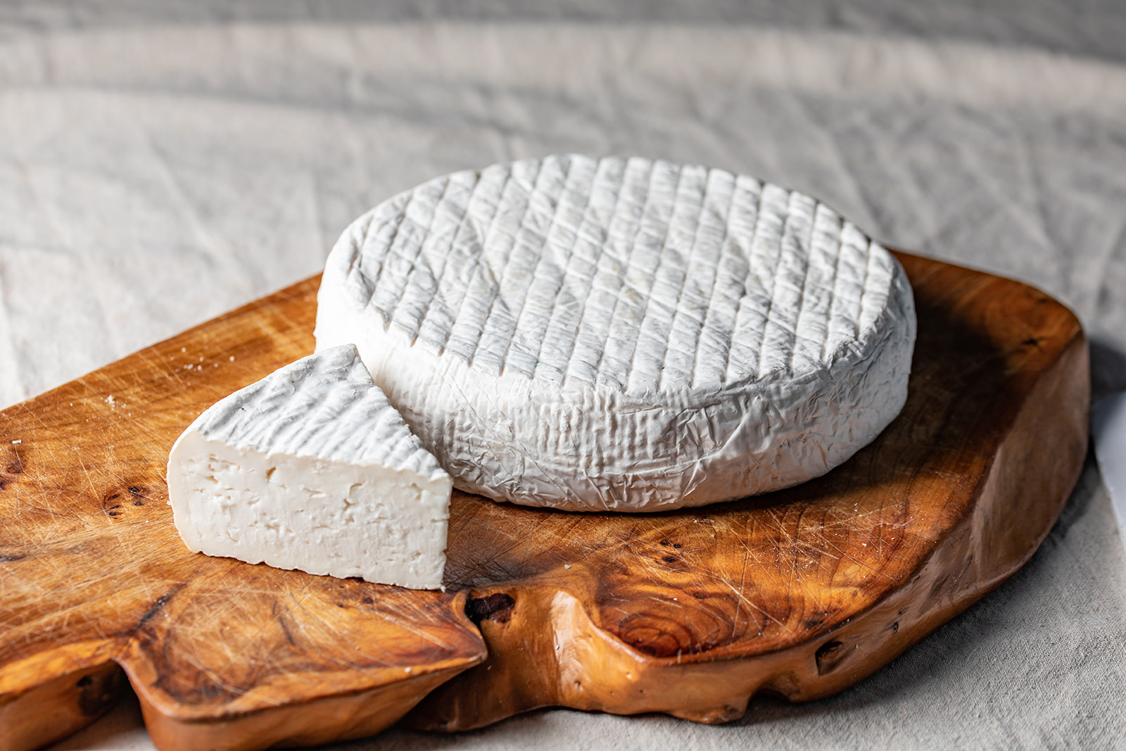 Brie-style Cheese made from Goat's Milk