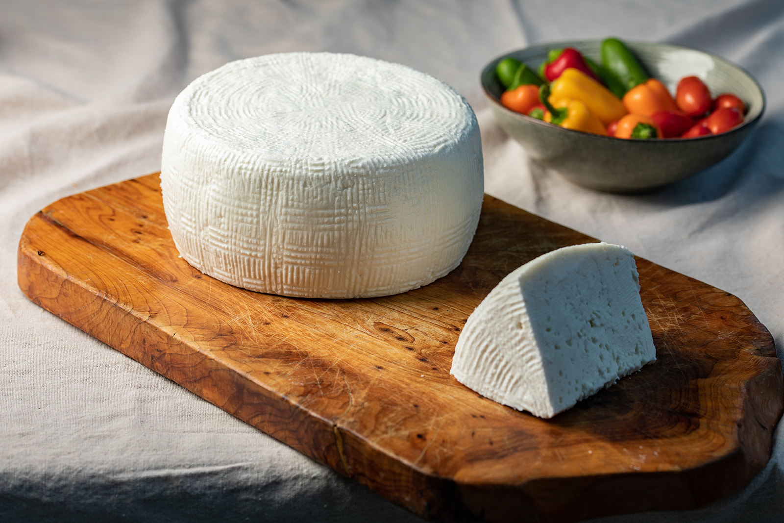 Sheep's Milk Salted Tzfat Cheese