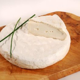 Brie-style Goat's Milk Cheese Slice