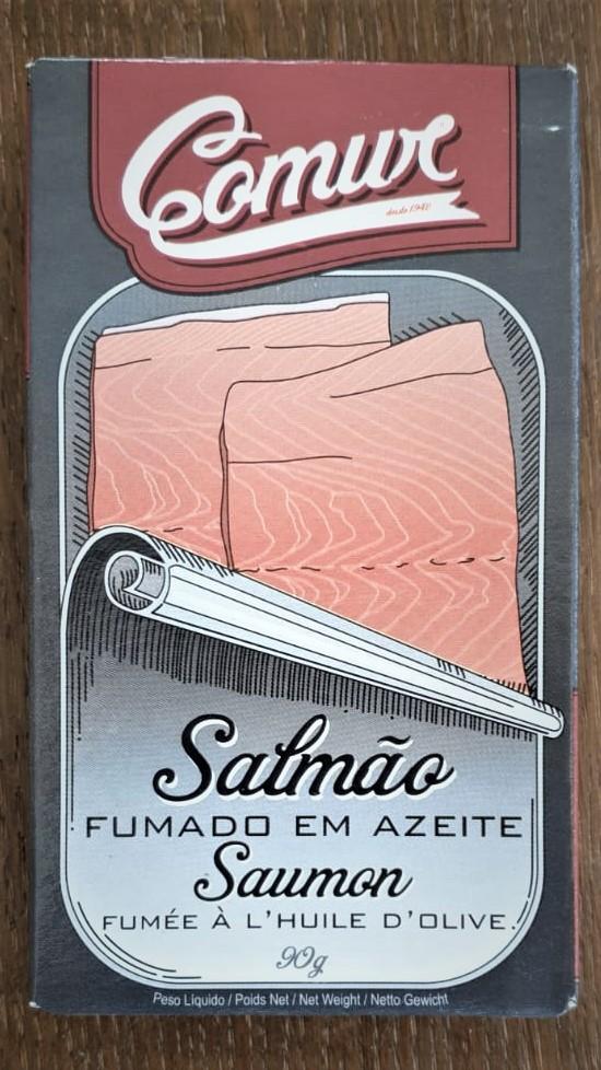 שימורי דג סלומון מעושן בשמן זית