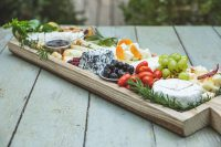 Cheese Platter for 6-8 diners with designed board