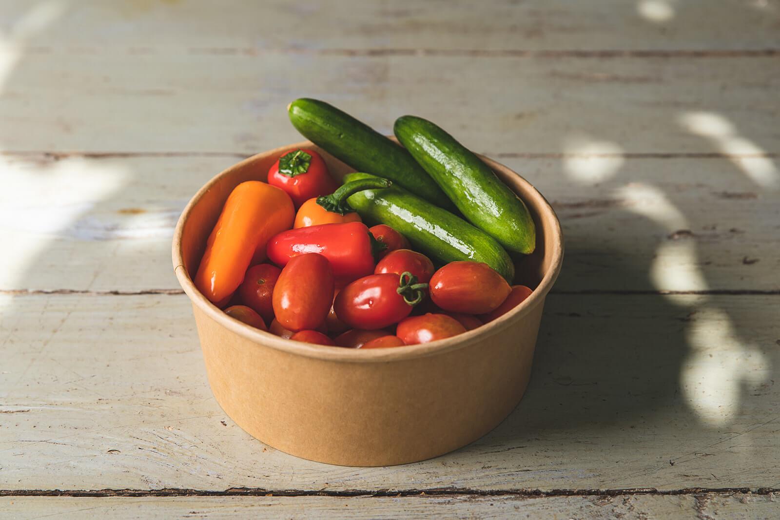 Vegetable Platter for two