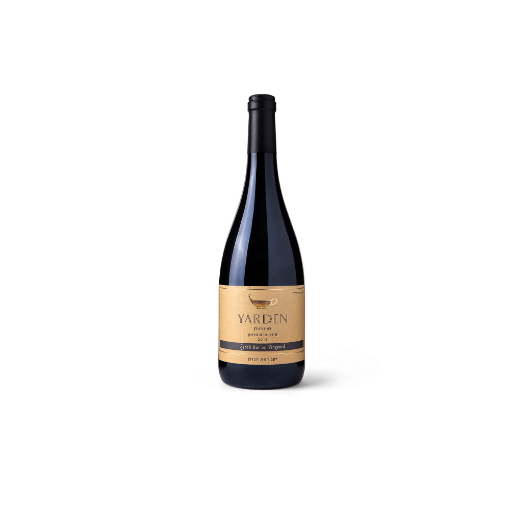 Yarden Syrah Brown's vineyard 2017